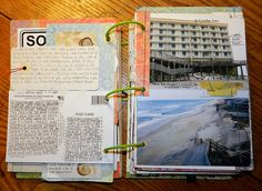 I met an old man that had the coolest journal with pictures he drew...wish I would have done this.