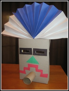 Kachina Mask Craft (of the Hopi tribe) - from Preschool Crafts for Kids*
