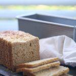 Gluten-free sandwich bread recipe with oats
