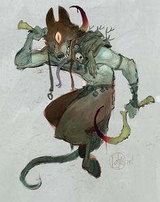 Art by Cory Loftis* Character Concept, Character Creation, Character Art, Concept Art, Art Du Monde, Monster Design, Creature Concept, Character Design References, Creature Design