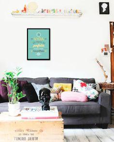 Imagem do Poster Frase A vida nao precisa ser perfeita