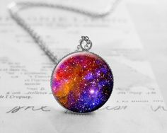 Gift Idea, Nebula Necklace, Astronomy, Space, N603