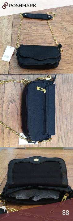 Cute cross body bag Fashion bag with gold metal chain strap Bags Crossbody Bags
