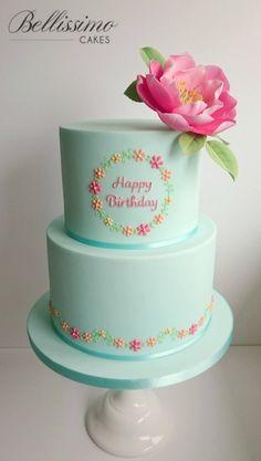 Happy Birthday to my Mum Linda who celebrates a... - Bellissimo Cakes