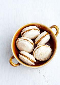 Cashew Dulce de Leche French Macaron Recipe | Cafe Johsonia