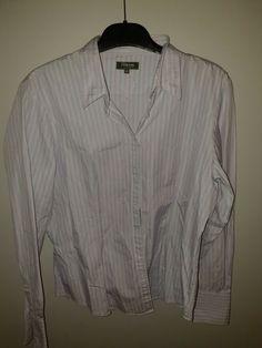 a3fd2fa92de8c Used TM Lewin ladies shirt size 16  fashion  clothing  shoes  accessories