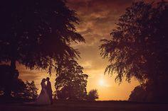 Coombe Lodge, Blagdon, Wedding Sunset
