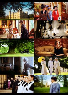 Downton Abbey....just started watching this show. Love it. It is filmed in Highclere Castle. Fascinating to read of it's history and the current owners.
