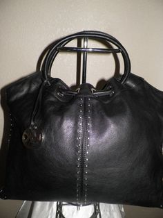 MICHAEL KORS Handbag purse GENUINE LEATHER shoulderbag luggage SHIP WORLDWIDE…