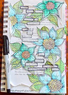 Beginning Your Art Journal - http://CreativeMeInspiredYou.com
