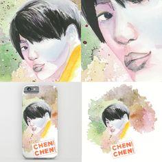 #exo #kpop #chen more on https://society6.com/katkatekel and on https://www.facebook.com/society6KatkaTekel/