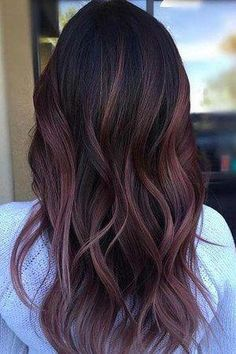 Long Wavy Ash-Brown Balayage - 20 Light Brown Hair Color Ideas for Your New Look - The Trending Hairstyle Plum Hair, Ombré Hair, Brown Blonde Hair, Light Brown Hair, New Hair, Golden Blonde, Dark Brown, Violet Brown Hair, Lilac Hair