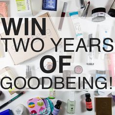 Win a Two Year Subscription to Goodbeing!