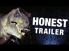 Honest Trailers - Jurassic Park. Made me laugh out loud more than once and diminished my excitement for this movie by exactly none.
