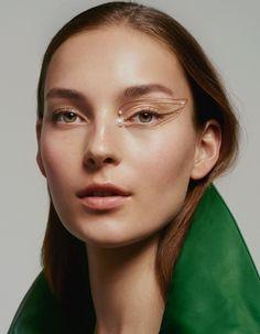 Fashion Editor: Emilie KarehHair: Tomo JidaiMakeup: Pat McGrathManicure: Yukie Miyakawa