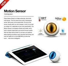 Motion Sensor le detecteur de Fibaro un petit bijoux de possibilités, Design me rappelant Oeil de Sauron ^^