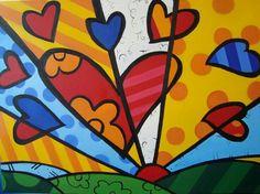 Romero Brito's hearts