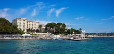 Belles Rives: This high society hotel has a prime waterfront position in Juan-les-Pins on the French Riviera. Scott Fitzgerald, Hotel Belles Rives, Cap D Antibes, Antibes France, Saint Sylvestre, Bali, Juan Les Pins, Small Luxury Hotels, Saint Louis