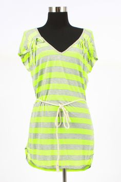 Victory & Victor neon tunic. $31.50