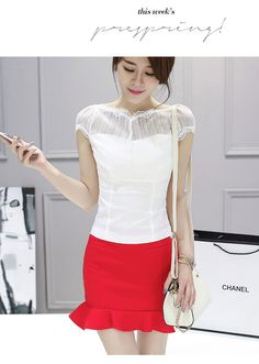japanese street fashion japanese fashion magazine japan store korean style chinese fashion trendy : Korean Women temperament Slim package hip dress two pieces suit fashion and style magazine summer fashion show Buyer reviews