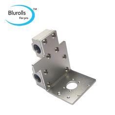 reprap prusa i3 3d printer parts X axis printing head X metal exturder carriage aluminum alloy 45mm hole distance