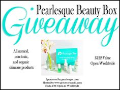 New Age Mama: All Natural, Organic Skincare Pearlesque Box #Giveaway