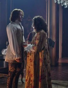 Jamie (Sam Heughan) and Claire Fraser (Caitriona Balfe) in Season Two of Outlander on Starz, Episode 3: Useful Occupations And Deceptions via  http://kissthemgoodbye.net/PeriodDrama/thumbnails.php?album=537