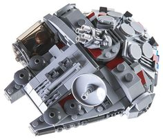 This micro Lego Millennium Falcon is quite cute