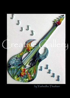 Music, quilling | via Facebook