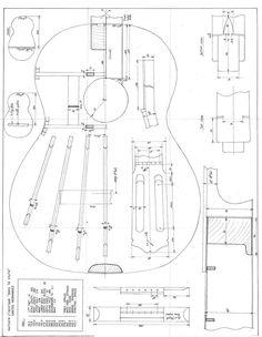 Classical Acoustic Guitar, Acoustic Guitars, Instrument Craft, Guitar Drawing, Cigar Box Guitar, Guitar Building, Guitar Design, Planer, How To Plan