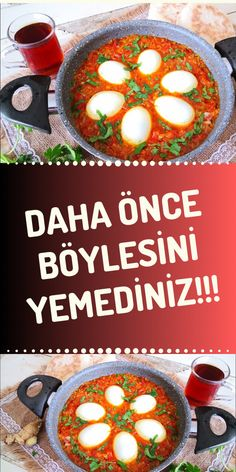 Turkish Breakfast, Pasta, Brunch, Menu, Yummy Food, Recipes, Menu Board Design, Delicious Food, Recipies