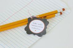 Take Note Valentine + Free Printable  |  Lemon Drop Shop  www.lemondropblog.com
