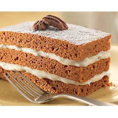 Can't get enough #pumpkin? You'll love this #Krusteaz Triple Layer Pumpkin Cake #recipe! Get the ingredients at #BigLots. #PumpkinEverything