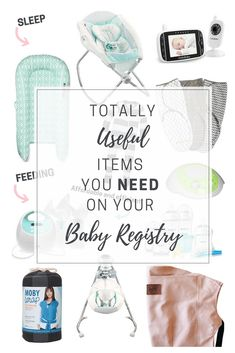 17 totally useful items you need on your baby registry! My Baby Girl, Mom And Baby, Pregnancy Hospital Bag, Moby Wrap, Baby Registry Must Haves, First Time Moms, Baby Fever, Future Baby, Kids And Parenting