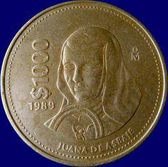 1989 $1000 MEXICAN COIN
