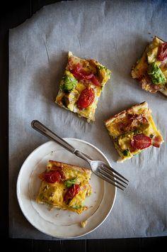 OMGosh.... AMAZING breakfast, here I come! Avocado Breakfast Casserole from www.dineanddish.net