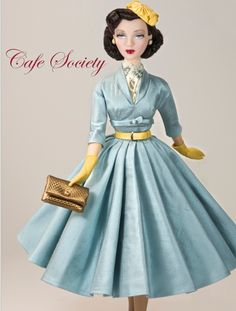 Gorgeous Gene fashion: Cafe Society