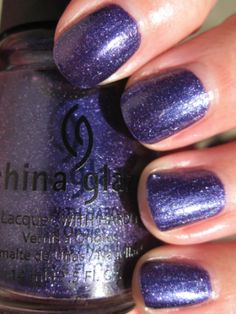 China Glaze C-C-Courage. Wizard of Ooh Ahz collection.