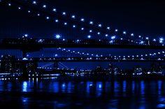 """""""THREE BIDGES IN BLUE"""" by . Olevar, via 500px."""