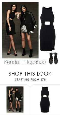 """Kendall in topshop"" by jenny-malik19 ❤ liked on Polyvore featuring Topshop"