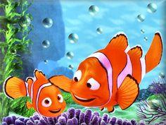 Free Finding Nemo wallpaper dekstop image and save image as , click Disney Nursery, Baby Disney, Disney Love, Disney Art, Nemo Wallpaper, Disney Wallpaper, Disney Marvel, Disney And Dreamworks, Disney Pixar
