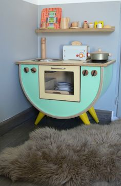 Fuente: Uncourantdanslamaison.    Great ideas for children play kitchen
