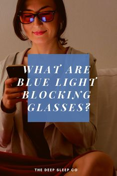 Read this article to find out what exactly blue light blocking glasses are, how they work, and if they can help you sleep better. Sleep Help, Good Night Sleep, Sleep Tips Insomnia, Shift Work Sleep Disorder, Sleep Medicine, Sleep Quotes, Natural Sleep Remedies, Sleep Better, Sleep Deprivation