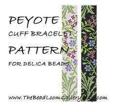 Hey, I found this really awesome Etsy listing at https://www.etsy.com/listing/97682982/peyote-cuff-bracelet-pattern-vol9-pdf