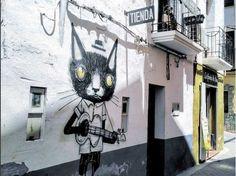 Fanzara village et capitale du graff en Espagne instagram-@magnificart_restauradors