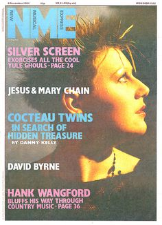 """""""jbinjapan:  Cocteau Twins (from the NME- December, 1984)  """""""