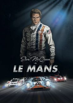 Steve McQueen is back in Le Mans. Discover the best art graphic novel on car racing ever made. The novel is based on the cult movie Le Mans Le Mans Steve Mcqueen, Steve Mcqueen Style, Steeve Mcqueen, Course Automobile, Film Le, Version Francaise, Cult Movies, Action Movies, Vintage Ads