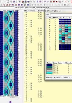 16 tarjetas, 5 colores // sed_88 ༺❁