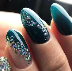 Cute Acrylic Nails, Acrylic Nail Designs, Nail Art Designs, Rhinestone Nails, Bling Nails, Rhinestone Nail Designs, Sparkle Nails, Stylish Nails, Trendy Nails