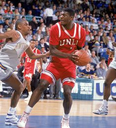 Larry Johnson and the UNLV squads will forever be known for their badass, us-against-the-world mentality. Basketball History, Basketball Is Life, Basketball Pictures, Basketball Legends, Sports Basketball, College Basketball, Basketball Players, Dodgers, Larry Johnson